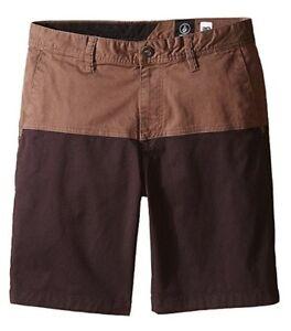 Volcom Boys Big Youth Colorblock Baden Shorts