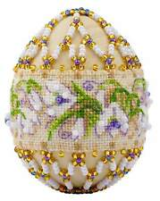 """Bedwork Kit RIOLIS B212 - """"Easter Egg """"Snowdrops"""""""