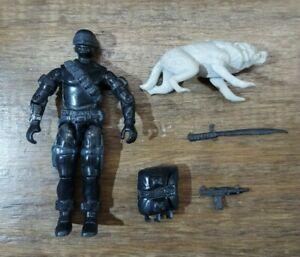 GI Joe Vintage 1985 Snake Eyes *Commando* Complete Figure ARAH Yo Joe! READ!
