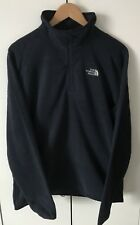 The North Face Mens Glacier 100 Quarter Zip Fleece Urban Navy Medium