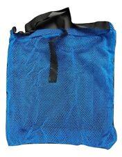 Retino subacqueo porta pesci protezione nuovo e cintura regolabile sub rete blu