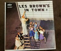 "Vintage 1956 ""Les Brown's in Town"" LP - Capitol Records (T-746) NM"