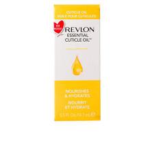 REVLON essential cuticle oil - nourishes & hydrates - 14.7ml