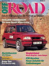 Off Road 1991 4/91 Aerostar Land Rover Defender Campo Revcon 4x4 Vitara Blazer