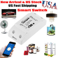 Sonoff Smart WiFi Wireless APP Switch Module Control for Android/IOS/Google Home