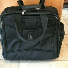 """Travelpro Crew 6 Carry-on Bag Overnight Suitcase Luggage Black 17""""  x 18"""" x 8"""""""