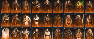 Topps Star Wars Card Trader PLATINUM ORANGE CARDS