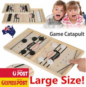 Sling Puck Game Fast Paced SlingPuck Winner Family Board Games Foosball Toys