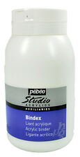 Pebeo Studio Acrylic Auxiliaries Bindex Painting & Collage Medium 500ml