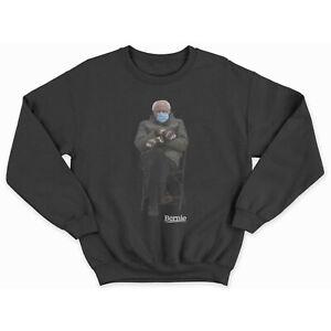 Bernie Meme Sweatshirt - Chairman Sanders Crewneck - bernie mittens sweatshirt