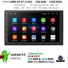 "7"" 2 DIN Android 8.1 WIFI Car Radio Stereo MP5 Player GPS 16G BT + Backup Camera"