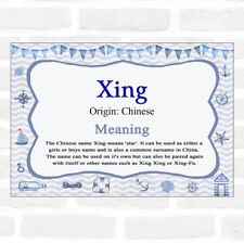 Xing Name Meaning Nautical Certificate