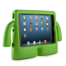 NEW silicone FREE STANDING CASE /COVER for APPLE IPAD 1/2/3/4 TABLET -YELLOW