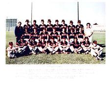 1976 TOLEDO MUD HENS 8X10 TEAM PHOTO  BASEBALL OHIO USA