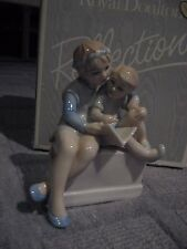 ROYAL DOULTON REFLECTIONS FIGURINE STORYTIME HN3126 IN ORIGINAL BOX-EXCELLENT