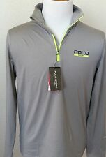 Ralph Lauren Polo Sport Thermo Vent Dri Fit Jersey Stretch Mens Pullover NWT M