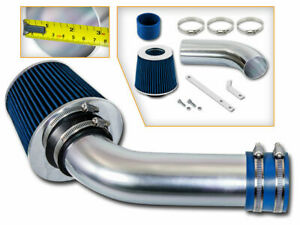 Short Ram Air Intake Kit + BLUE Filter for 03-04 Saturn Ion 2.2L L4 DOHC