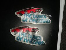 DUKES of  Hazzard  cloth patch 2pack lot