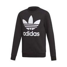 Adidas Originals - TREFOIL CREW - FELPA CASUAL BIMBO/A - art.  ED7797