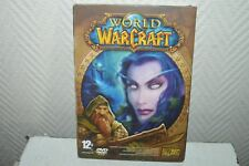 JEU PC/MAC DVD ROM WORLD OF  WARCRAFT GAME RPG JDR BLIZZARD 2005