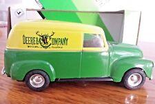 Ertl Chevy 1950 Panel Truck Deere & Company Chevrolet 1:25 Scale Die Cast