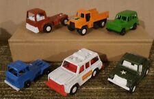 Tootsietoy Vintage Plastic Car Lot