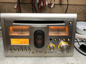 Rare panasonic CQ tx5500W CD Player Car radio vacuum tube  AUX Bluetooth Audio