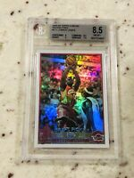 2003-04 TOPPS CHROME #111 LEBRON JAMES REFRACTORS LAKERS CAVS RC BGS 8.5 9 9.5