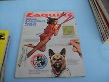 VINTAGE JANUARY 1973 ESQUIRE MAGAZINE - DUBIOUS ACHIEVEMENT AWARDS