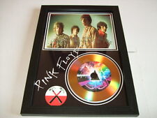 PINK FLOYD  SIGNED  GOLD CD  DISC 51