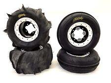 DWT G2 Beadlock Wheels ITP Sand Star Paddle Tires Front Rear Kit Banshee Raptor