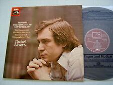 HQS 1370 BRAHMS The Piano Pieces Op. 117, 118 & 119 Alexeev vinyl LP