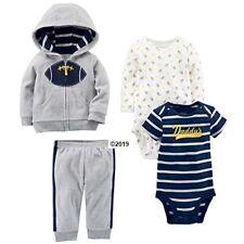 Simple Joys by Carter's Baby Boy 4-Piece Fleece Jacket w/Pants Set Size 3-6M