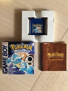 Pokemon Blu con scatola Game Boy originale