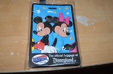 Disneyland Resort Official Luggage Tag  Mickey & Minnie