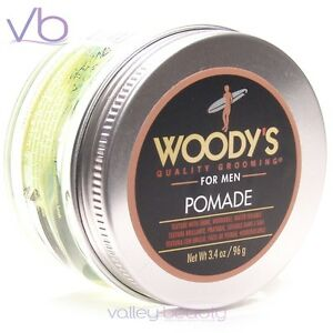 WOODY'S Quality Grooming For Men Pomade - Texture With Shine, Water Soluble