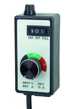 Dial Router Speed Control. Variable Speed or Full  Run