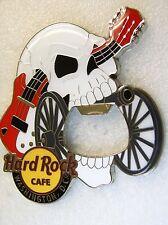 WASHINGTON DC,Hard Rock Cafe,Special bottle opener MAGNET,Skull,must see