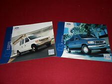 2003 FORD ECONOLINE E-SERIES VAN WAGON CONVERSIONS BROCHURE + COMMERCIAL CATALOG