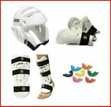Taekwondo Sparring Gear Set Foam Protection Tkd Package Head Hand Shin Instep