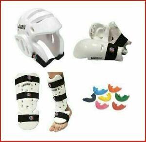 Taekwondo Sparring Gear Set Foam Protection Tkd Package Head Hand Shin Instep