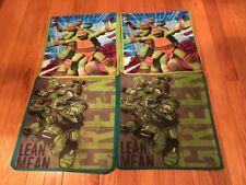 4 NEW Nickelodeon Kids Reusable Shopping Tote Bags - Mutant Ninja Turtles