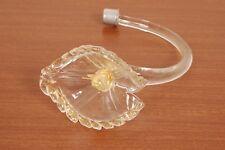 Ricambio lampadario vetro soffiato Murano. Calla con ricamo dorato.