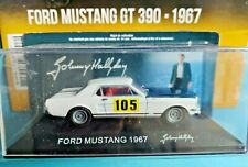 Voiture Johnny Hallyday Ford Mustang 390GT 1967 n°2 Neuf 1/43 Monte Carlo