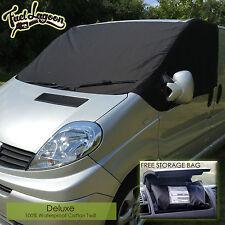 Deluxe Vauxhall Vivaro Van Window Screen Cover Windscreen Black Blind Frost Opel