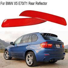 Pair Rear Sport Bumper Reflector Housing Light For BMW X5 E70/71