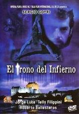 EL TRONO DEL INFIERNO * New DVD * 1994 Pelicula*  Sergio Goyri