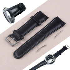 22mm PU Leather Watchband Replacement Fit for SUUNTO X-LANDER Watch Bracelet ti