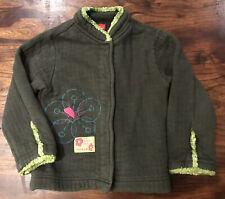 Marese Girls Designer jacket 4 years Green
