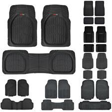 Heavy Duty Car Floor Mats For Sedan Suv Van Truck Carpet Rubber All Weather Fits 2012 Toyota Corolla